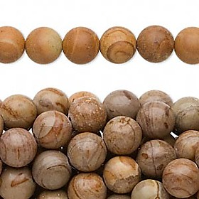 Bead 16 tigerskin jasper natural 8mm round B to C grade Sold per pkg of ten BEGB2236 :  bead 16 tigerskin jasper natural 8mm round b to c grade sold per pkg of ten begb2236