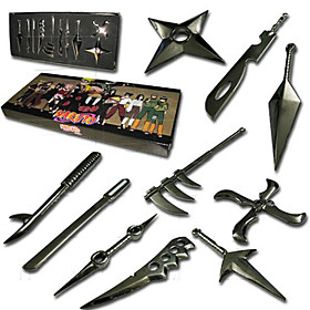Naruto Cosplay Accessories 10 Pieces Mini Weapon Set(qydm062) Picture