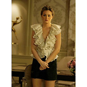 Blair Princess Elegant Top Gossip Girl Fashion  :  plus size plus size top blouse fashion
