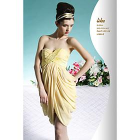 Empire Sweetheart Short / Mini Chiffon Cocktail Dress / Prom Dress (OFGC0102) - US$ 89.99