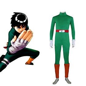 Naruto Rock Lee Men's Cosplay Costume Picture