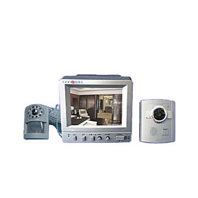 Intercom Doorbell Monitor With Pir Camera Aptitude Alarm (jsq057) (start From 2 Units) Picture
