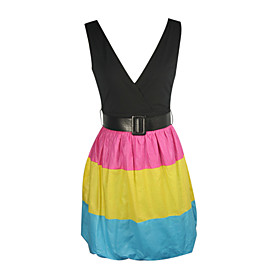 Candy Shop Vest Belt Day Dress (25001399)
