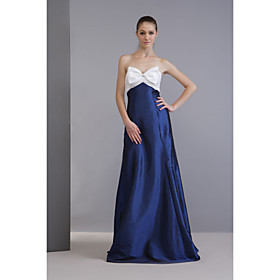 A-line Sweetheart  Floor-length Taffeta  Bridesmaid/ Wedding Party Dress (FSH0057)
