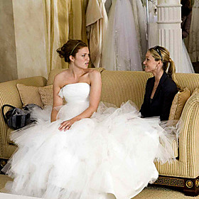 used celebrity wedding dress
