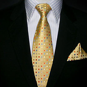 Corbata Color Oro