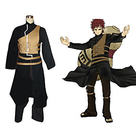 Naruto Shippuden Gaara Men's Cosplay Costume Picture
