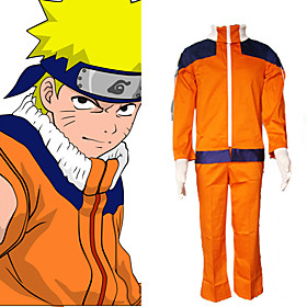 Naruto Uzumaki Men's Cosplay Costume Picture