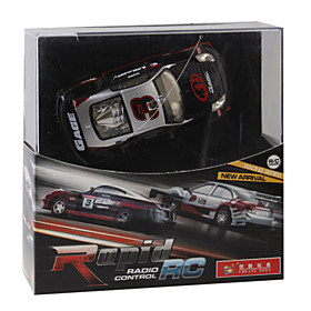 Rechargeable R/c Model Led Racing Car With Desktop Stand (40mhz) Picture