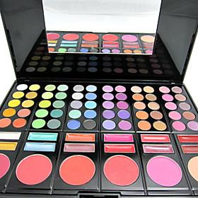 Maquillaje De Ojos Y Coloretes