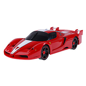 Rechargeable R/c Model Led Racing Car With Desktop Stand Picture