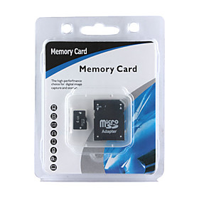 4gb Micro Sdhc Memory Card With Sd Adapter (cmc003) Picture