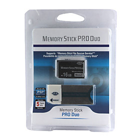 16gb Memory Stick Pro Duo Magicgate Card With Memory Stick Duo Adapter (cmc024) Picture