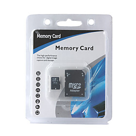 16gb Micro Sdhc Memory Card With Sd Adapter (cmc001) Picture