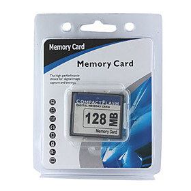 128mb Cf Compact Flash Memory Card (cmc017) Picture