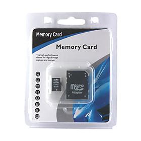 8gb Micro Sdhc Memory Card With Sd Adapter (cmc002) Picture