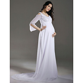 Vestido De Boda De Maternidad
