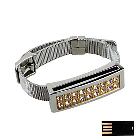 Fashionable Bracelet Jewelry USB Flash Drive - Optional Memory From 2GB to 16GB (SMQ4754)