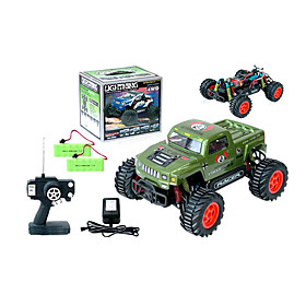 1:16 Scale Rc Truck 4wd Electric Powered On-road Car  Radio Remote Control Car Toy(green)(yx02664g) Picture