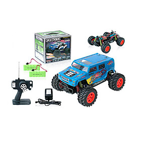1:16 Scale Rc Truck 4wd Electric Powered On-road Car  Radio Remote Control Car Toy(blue)(yx02664b) Picture