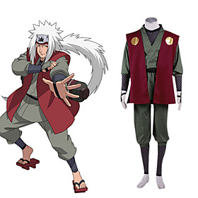 Naruto Jiraiya Cosplay Costume Picture