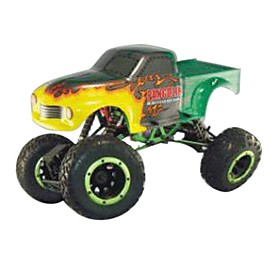 1/10th Sacle Electric Powered Off-road Crawler Green&yellow (tpet-1080t2gy) Picture