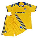 Lightinthebox ES  08-09 Lampard Chelsea fuera no.8 amarillo chico jersey de fútbol y juego corto (gzzqh473)