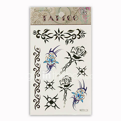 flower temporary tattoo dermatology tattoo removal