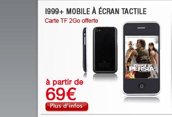 I999+ Mobile à écran tactile