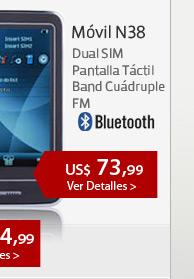 Móvil N38 Dual SIM