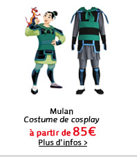Mulan Costume de cosplay
