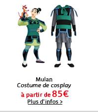 Mulan Costume de cosplay
