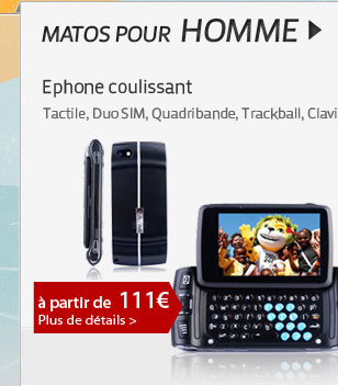 Ephone coulissant