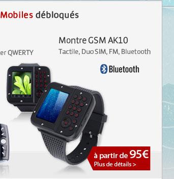 Montre GSM AK10