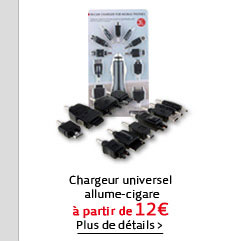 Chargeur universel allume-cigare