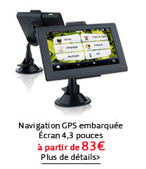 Navigation GPS embarquée