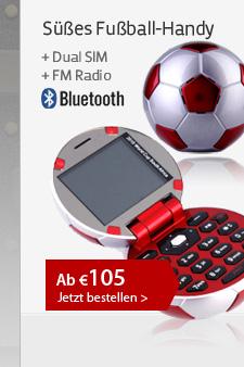 Süßes Fußball-Handy