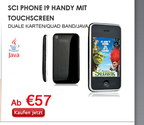 Sci Phone I9 Handy mit Touchscreen