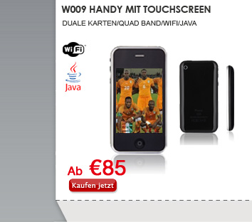 W009 Handy mit Touchscreen