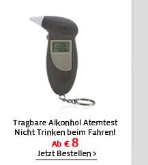 Tragbare Alkonhol Atemtest