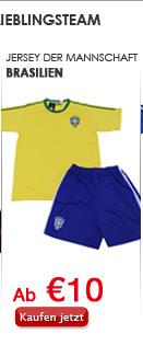 Jersey der Mannschaft Brasilien
