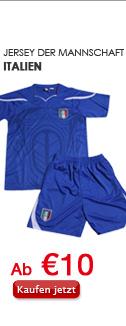 Jersey der Mannschaft Italien
