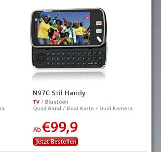 N97C Stil Handy