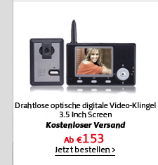 Drahtlose optische digitale Video-Klingel
