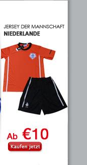 Jersey der Mannschaft Niederlande
