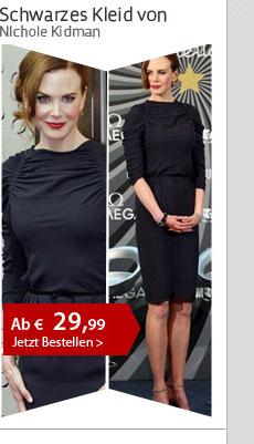 Schwarzes Kleid von NIchole Kidman