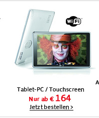 Tablet-PC+Touchscreen+WIFI