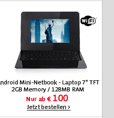 Android Mini-Netbook - Laptop 7