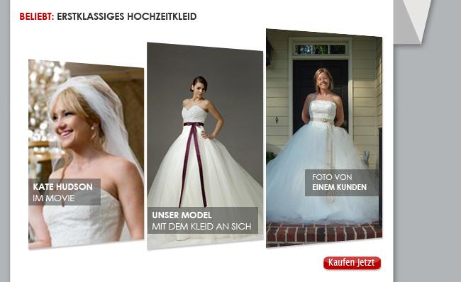 Beliebt: Erstklassiges Hochzeitkleid