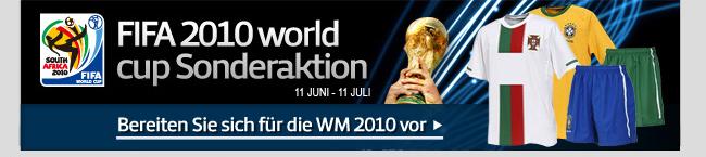 Bereiten Sie sich für die WM 2010 vor
